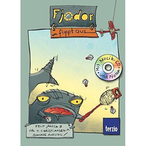Felix Janosa - Fjodor flippt aus: Buch mit CD - Preis vom 03.12.2020 05:57:36 h