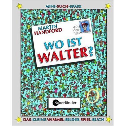 Martin Handford - Wo ist Walter? Mit magischer Lupe: Das-kleine-Wimmel-Bilder-Spiel-Buch - Preis vom 04.09.2020 04:54:27 h