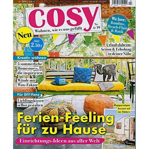 cosy - cosy 04/2019 Ferien-Feeling für zu Hause - Preis vom 11.05.2021 04:49:30 h