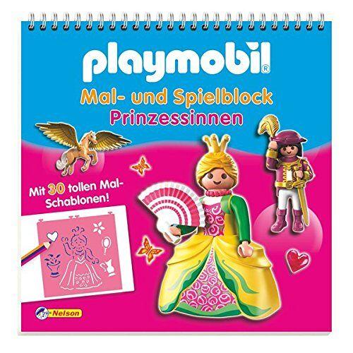 - Playmobil Mal- und Spielblock Prinzessinnen: Mit 30 tollen Mal-Schablonen! - Preis vom 12.05.2021 04:50:50 h