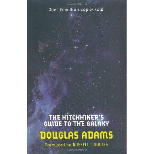 Douglas Adams - The Hitchhiker's Guide to the Galaxy: Volume One in the Trilogy of Five (Hitchhikers Guide 1) - Preis vom 11.04.2021 04:47:53 h
