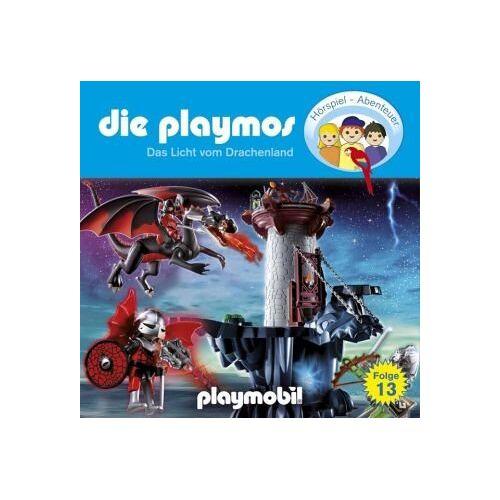 Rost, Simon X. - Die Playmos - Folge 13: Das Licht aus dem Drachenland. Hörspiel.: Das Licht vom Drachenland - Preis vom 21.10.2020 04:49:09 h