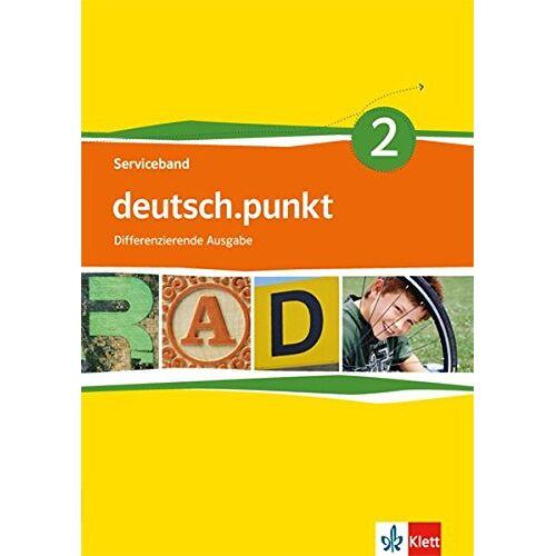 - deutsch.punkt / Serviceband mit CD-ROM: Differenzierende Ausgabe / Differenzierende Ausgabe - Preis vom 08.05.2021 04:52:27 h