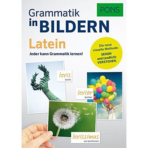 - PONS Grammatik in Bildern Latein: Jeder kann Grammatik lernen! - Preis vom 21.10.2019 05:04:40 h