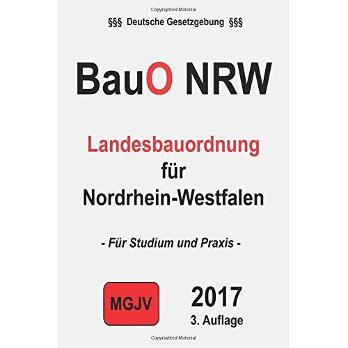 groelsv Verlag - BauO NRW: Landesbauordnung für Nordrhein-Westfalen - Preis vom 05.05.2021 04:54:13 h
