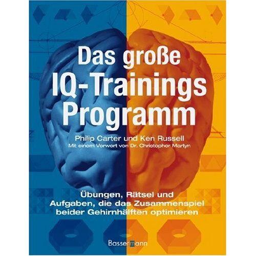 Philip Carter - Das große IQ-Trainingsprogramm - Preis vom 08.05.2021 04:52:27 h