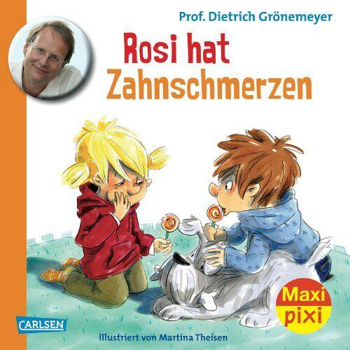 Grönemeyer, Prof. Dr. med. Dietrich - Maxi-Pixi Nr. 121: Rosi hat Zahnschmerzen - Preis vom 13.05.2021 04:51:36 h