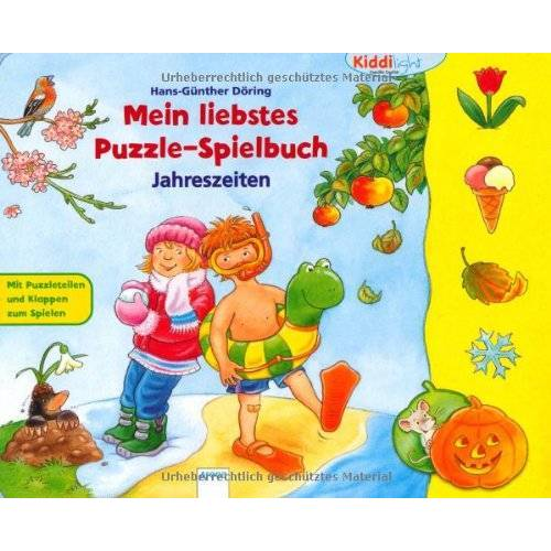 Hans-Günther Döring - Mein liebstes Puzzlespielbuch. Jahreszeiten - Preis vom 25.02.2021 06:08:03 h