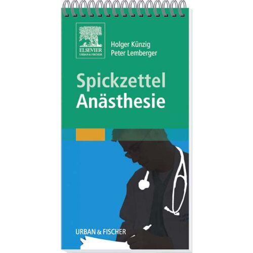 - Spickzettel Anästhesie - Preis vom 12.05.2021 04:50:50 h
