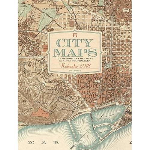 Ackermann Kunstverlag - City Maps 2018 - Preis vom 23.01.2020 06:02:57 h