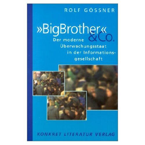 Rolf Gössner - 'BigBrother' & Co. - Preis vom 05.09.2020 04:49:05 h