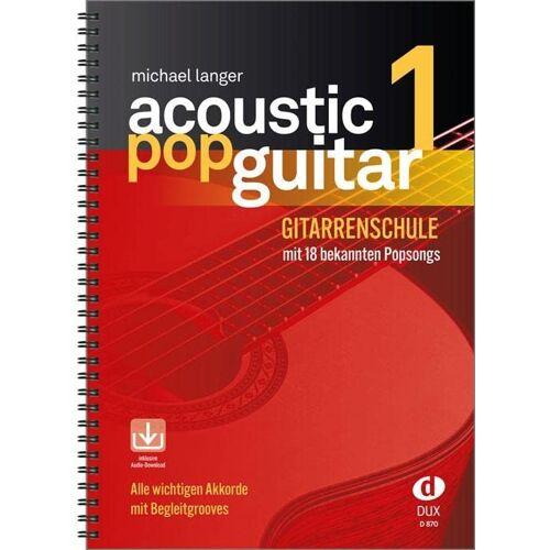 - Acoustic Pop Guitar 1: Gitarrenschule mit 18 bekannten Popsongs incl. CD: Alle wichtigen Pickings & Strummings Schritt für Schritt - Preis vom 20.10.2020 04:55:35 h
