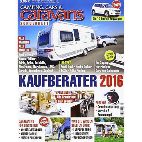 - Kaufberater Camping, Cars & Caravans 2016 - Preis vom 15.01.2021 06:07:28 h