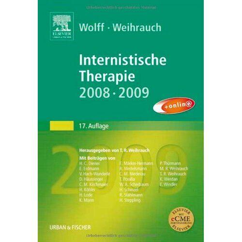 Hans-Peter Wolff - Internistische Therapie: 2008/2009 - Preis vom 27.10.2020 05:58:10 h