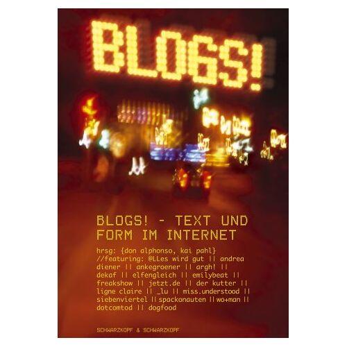 Don Alphonso - Blogs!: Text und Form im Internet - Preis vom 01.03.2021 06:00:22 h
