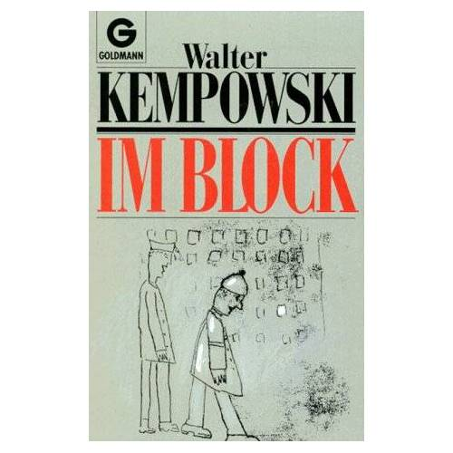 Walter Kempowski - Im Block. Ein Haftbericht. - Preis vom 18.04.2021 04:52:10 h