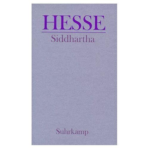 Hermann Hesse - Siddhartha. Eine indische Dichtung. - Preis vom 20.10.2020 04:55:35 h
