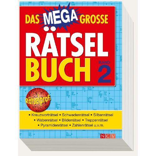 - Das Megagroße Rätselbuch Band 2 : Mehr als 850 Rätsel auf 400 Seiten - Preis vom 16.05.2021 04:43:40 h