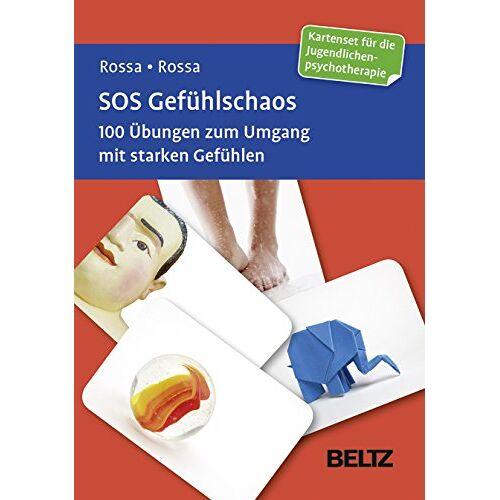 Robert Rossa - SOS Gefühlschaos: 100 Übungen zum Umgang mit starken Gefühlen. Kartenset für die Jugendlichenpsychotherapie - Preis vom 24.02.2021 06:00:20 h