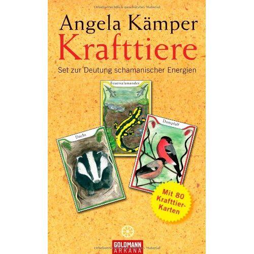 Angela Kämper - Krafttiere: Set zur Deutung schamanischer Energien - Mit 80 Krafttier-Karten - Preis vom 18.04.2021 04:52:10 h