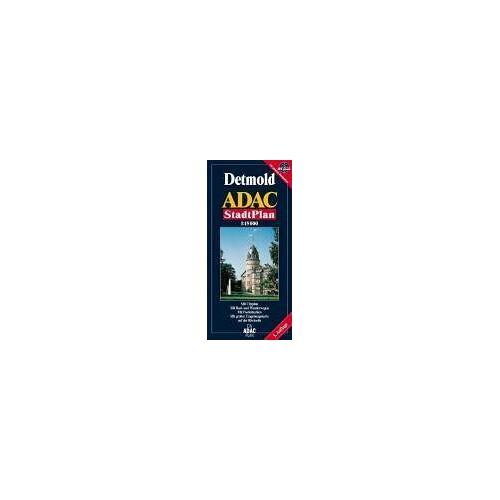 - ADAC Stadtplan Detmold - Preis vom 21.10.2020 04:49:09 h