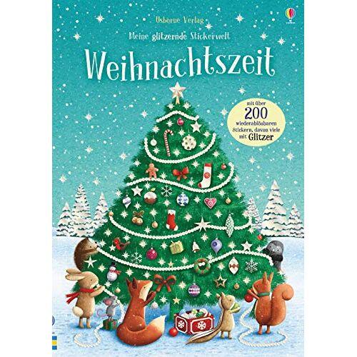 Fiona Patchett - Meine glitzernde Stickerwelt: Weihnachtszeit: mit über 250 Stickern - Preis vom 18.04.2021 04:52:10 h