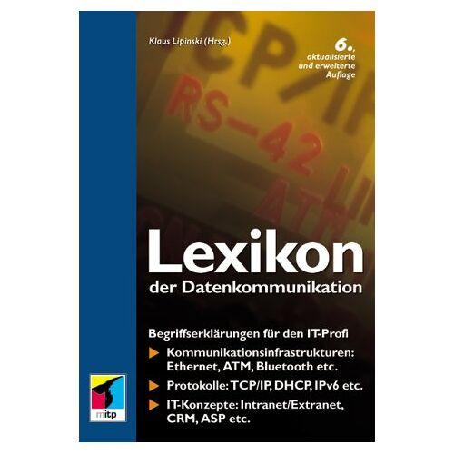 Klaus Lipinski - Lexikon der Datenkommunikation - Preis vom 20.10.2020 04:55:35 h