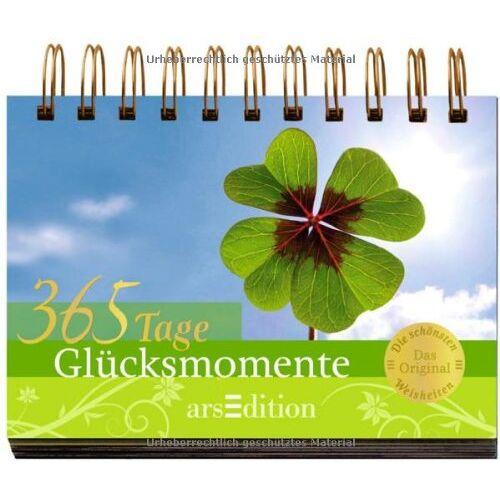 kein Autor - 365 Tage Glücksmomente - Preis vom 16.05.2021 04:43:40 h