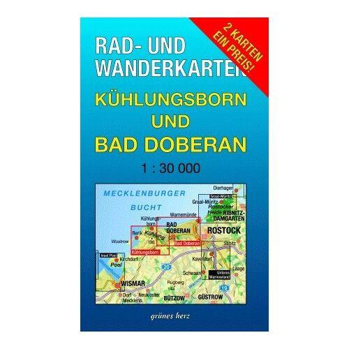 Lutz Gebhardt - Kühlungsborn und Bad Doberan 1 : 30 000 Rad- und Wanderkarten-Set: Mit den Karten: Rerik, Kühlungsborn und Bad Doberan, Warnemünde - Preis vom 18.04.2021 04:52:10 h