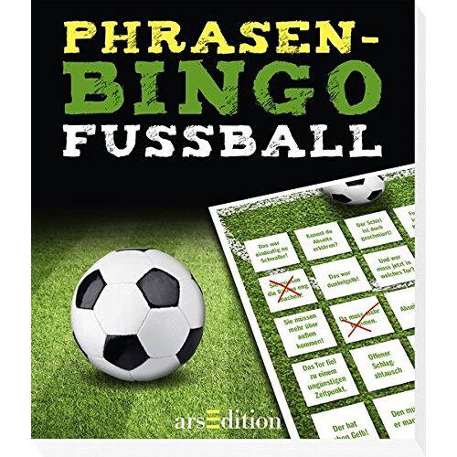 kein Autor - Phrasen-Bingo Fußball - Preis vom 03.05.2021 04:57:00 h