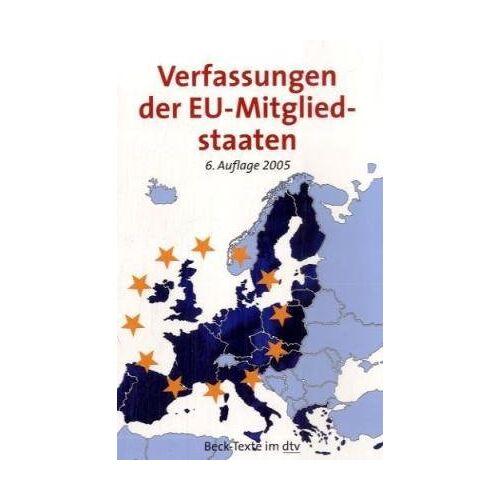 Beck - Die Verfassungen der EU-Mitgliedstaaten - Preis vom 18.04.2021 04:52:10 h