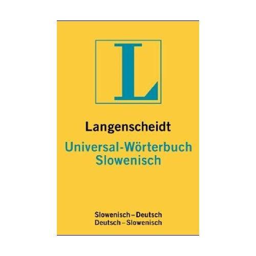 - Slowenisch. Universal- Wörterbuch. Langenscheidt - Preis vom 14.04.2021 04:53:30 h