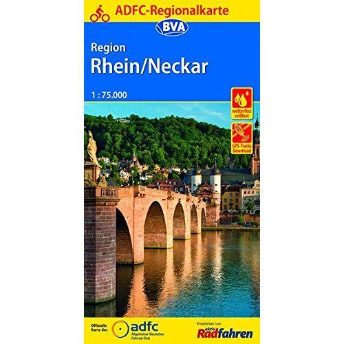 Allgemeiner Deutscher Fahrrad-Club e.V. (ADFC) - ADFC-Regionalkarte Region Rhein/Neckar, 1:75.000, reiß- und wetterfest, GPS-Tracks Download (ADFC-Regionalkarte 1:75000) - Preis vom 09.04.2021 04:50:04 h