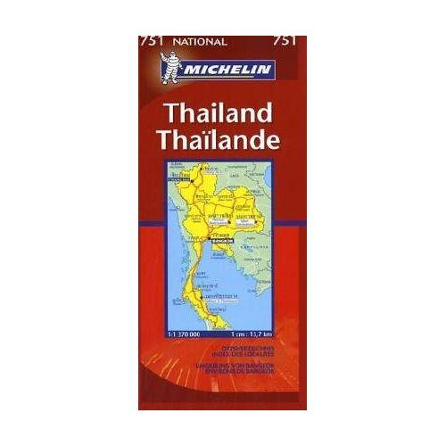 - Michelin Karten, Bl.751 : Thailand; Thailande; Thailandia - Preis vom 22.01.2021 05:57:24 h