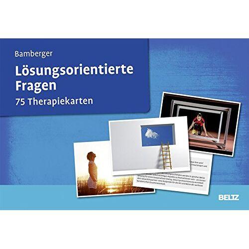 Bamberger, Günter G. - Lösungsorientierte Fragen: 75 Therapiekarten. Kartenset mit 75 Karten und 36-seitigem Booklet. - Preis vom 24.02.2021 06:00:20 h