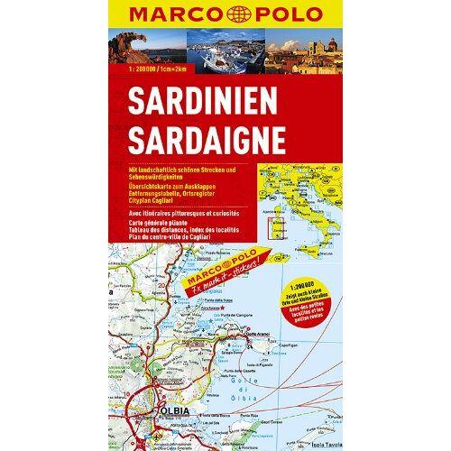 Marco Polo - MARCO POLO Karte Sardinien 1:200.000 (MARCO POLO Karten 1:200.000) - Preis vom 20.02.2020 05:58:33 h