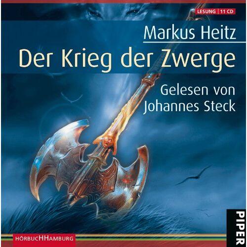 Markus Heitz - Der Krieg der Zwerge: Die Zwerge Band 2: 11 CDs - Preis vom 03.04.2020 04:57:06 h