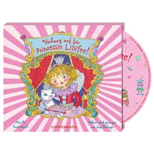 Monika Finsterbusch - Vorhang auf für Prinzessin Lillifee! (CD) - Preis vom 16.04.2021 04:54:32 h