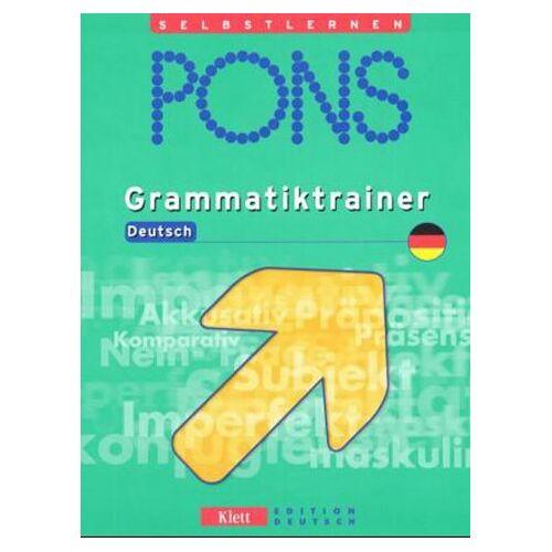 Christian Fandrych - PONS Grammatiktrainer Deutsch - Preis vom 15.05.2021 04:43:31 h