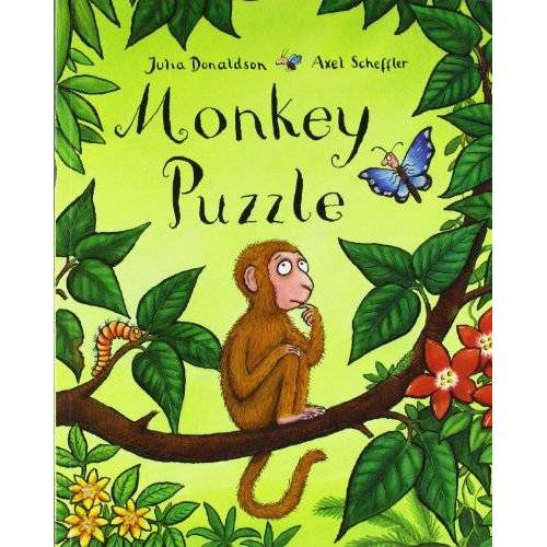 Julia Donaldson - Monkey Puzzle - Preis vom 24.02.2021 06:00:20 h