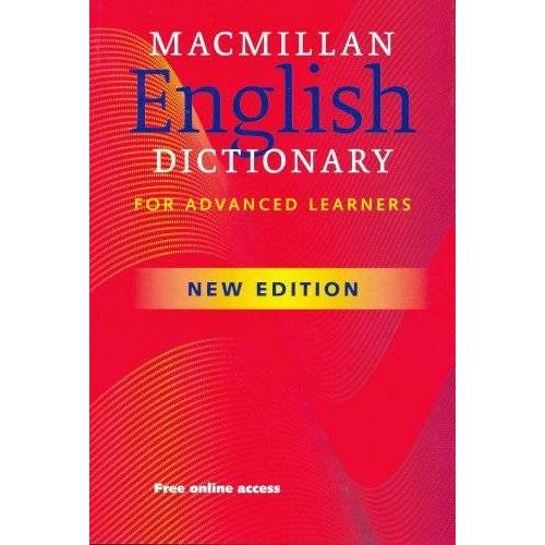 Macmillan Educ - Macmillan English Dictionary for Advanced Learners - Preis vom 18.04.2021 04:52:10 h