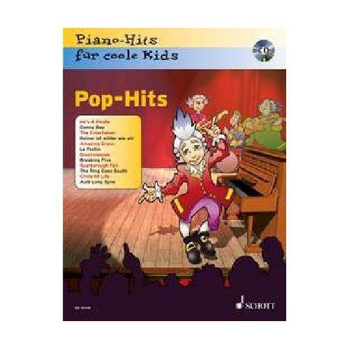 Jürgen Krekel - Pop-Hits: Piano-Hits für coole Kids. Klavier. Ausgabe mit CD. - Preis vom 12.04.2021 04:50:28 h