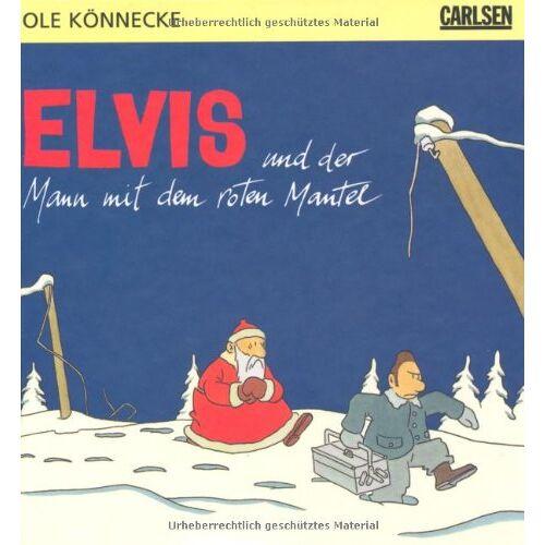 Ole Könnecke - Elvis und der Mann mit dem roten Mantel - Preis vom 20.10.2020 04:55:35 h