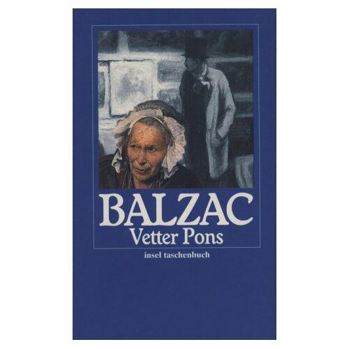 Balzac, Honoré de - Vetter Pons. - Preis vom 28.02.2021 06:03:40 h