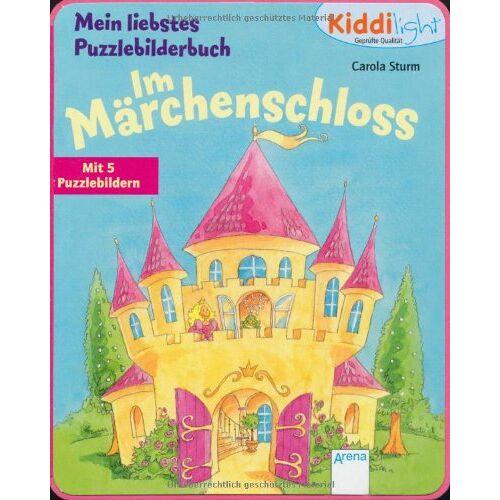 Sturm Mein liebstes Puzzlebilderbuch - Im Märchenschloss: Mit 5 Puzzlebildern - Preis vom 10.05.2021 04:48:42 h