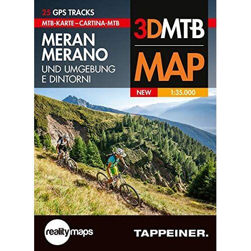 Athesia-Tappeiner Verlag - Moutainbike-Karte Meran und Umgebung: Cartina Mountainbike Merano e Dintorni (Mountainbike-Karten) (Mountainbike-Karten / Cartine Mountainbike) - Preis vom 26.02.2020 06:02:12 h