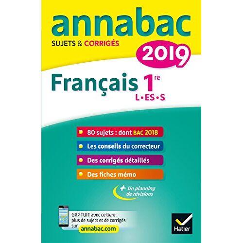 - Français 1re séries L, ES, S : Sujets et corrigés - Preis vom 15.05.2021 04:43:31 h