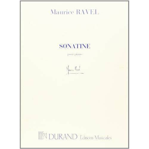 Maurice Ravel - Sonatine --- Piano - Preis vom 07.03.2021 06:00:26 h