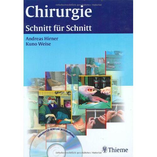Andreas Hirner - Chirurgie. Schnitt für Schnitt - Preis vom 21.10.2020 04:49:09 h