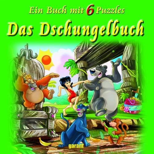 - Das Dschungelbuch: Puzzlebuch mit 6 Puzzle - Preis vom 07.04.2021 04:49:18 h